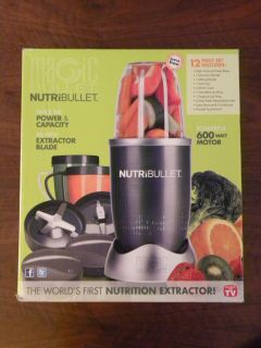 NutriBullet Nutrition Extractor Juicer Blender by Magic Bullet   12