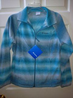 Columbia June Lake Fleece Jacket Turquoise Blue Gray Womens Sizes M L