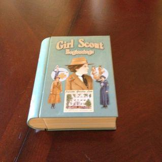 Girl Scout Beginning Collectible Book Tin Juliette Gordon Low