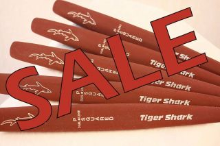 Tiger Shark Jumbo Burgundy Red Putter Golf Club Oversized Mens