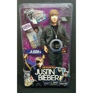 in Package Justin Bieber Singing Doll Baby Justin Bieber Doll