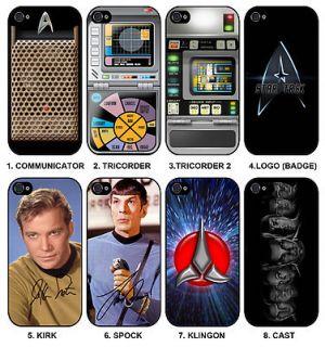choice of Star Trek ★ Apple iPhone 4 4S Mobile Phone Hard Case
