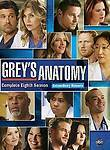 Greys Anatomy The Complete Eighth Season 8 DVD 2012 6 Disc Set New