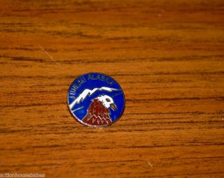 Ski Pin Badge Skiing Juneau Alaska