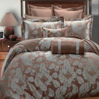 Complete Duvet Cover Set Brown Sage Mint Bed Set Full Queen King Cal