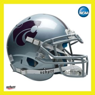 Kansas State Wildcats on Field XP Authentic Football Helmet by Schutt