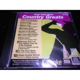 Keith Kenny Chesney Greatest Hits Country Karaoke CDG CD Songs