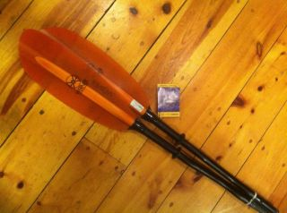 Werner Camano FG Neutral Bent Small Shaft 230cm Kayak Paddle