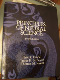of Neural Science 2000 Hardcover 4th Edition Kandel Good Used