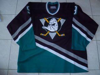 Authentic Game NHL CCM Ultrafil Anaheim Mighty Ducks Kariya Jersey 54