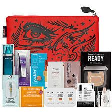Kat Von D Sephora Cosmetic Make Up Pouch Cosmetic Bag Plus Samples