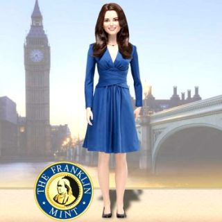 Franklin Mint Kate Middleton Royal Engagement Doll Limited Edition
