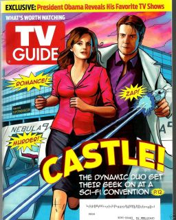 11 2012 CASTLE NATHAN FILLION STANA KATIC REBA MCENTIRE THE GOOD WIFE