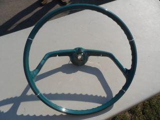 1961 Chevy Chevrolet Impala Steering Wheel Flight Deck RARE