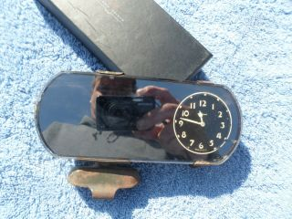 1920s 1930s Ford Model T Model A Rear View Mirror Clock 1932