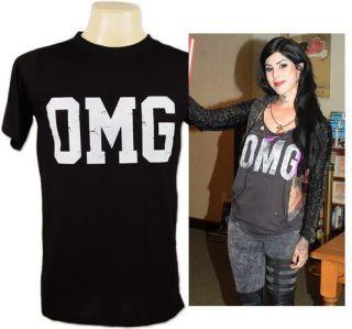 OMG Kat Von D Punk Goth Death T Shirt S