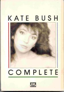 Kate Bush Song Book Complete Songbook Sheet Music 65 Songs 180 Pages