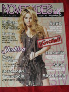 Shakira Novedades Magazine Kate Del Castillo Eva Longoria Madonna