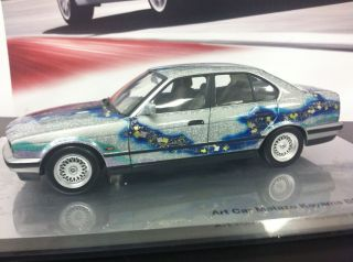 Minichamps BMW 535i E34 Matazo Kayama Art Car Dealer Edition 1 18