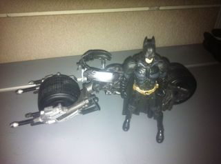 Batman Dark Knight Movie Masters Vehicle Bat Pod Figure