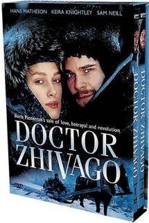 Zhivago New DVD 2002 Miniseries Keira Knightley 054961865192