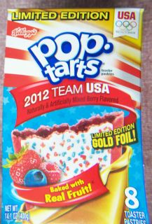 Olympics 2012 Limited Edition Team USA Kelloggs Red White Blue Berry