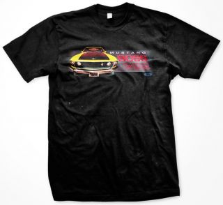 302 Officially Licensed Classic Muscle Car Mens T Shirt Tee