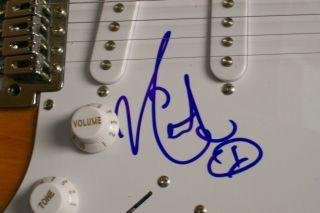Keith Urban Signed Electric Fender Guitar Autograph COA