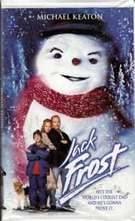 Jack Frost Michael Keaton Christmas VHS 085391722731