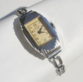 Vintage RARE Kelton Antique Art Deco Ladies Mechanical Wristwatch