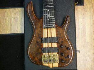 Ken Smith BSR 6TN Black Tiger 6 String Bass Guitar