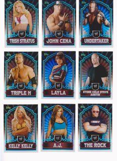 Classic 90 Card Set John Cena Kelly Kelly Undetaker The Rock