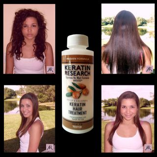 Brazilian Complex Hair Keratin Treatment Tester 120ml with Moroccan