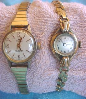 Vintage Ladies Waltham 25 Jewels Incabloc Kent Watch Wristwatch