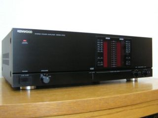 Kenwood Basic M1D Stereo Power Amplifier Made in Japan