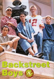 Backstreet Boys Nick Carter Kevin Richardson Pinup