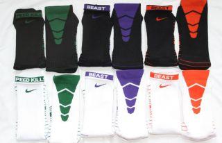 Nike Elite Football Performance Dri Fit Socks 1 Pair L 8 12 Purple