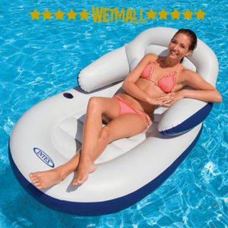 Intex Comfy Cool Lounge Inflatable Floating Pool Chair