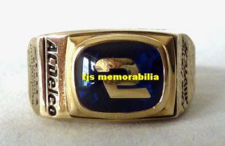 Busch Series Championship Ring ACDelco Kevin Harvick Richard Childress