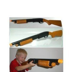 Kids Toy Shotgun Shot Gun with Shooting Sounds and Ejecting Bullets