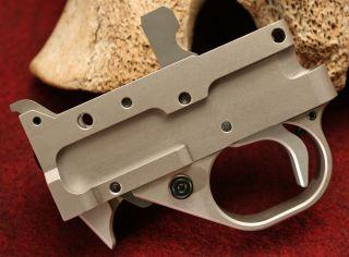 Kidd Single Stage 1022 Trigger for Ruger 10 22 Silver
