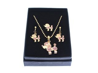 Childrens Jewelry Set Necklace Ring Earrings K02027