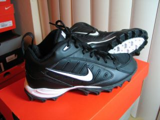 Nike Land Shark Mid BG Kids Youth Football Cleats Sizes 4 5 5 5