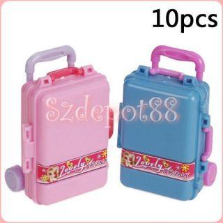 Kids Boys Girls Cabin Trolley Case Wheeled Bag Suitcase Hand Luggage