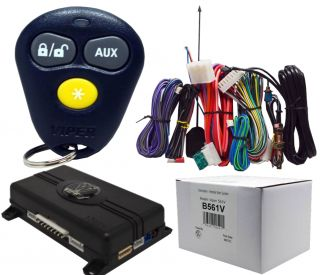 Viper 561V 1 Way Remote Start System and Keyless Entry System