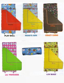 Nap Pak Pillow Comforter Blanket Kids Sleep Mat New