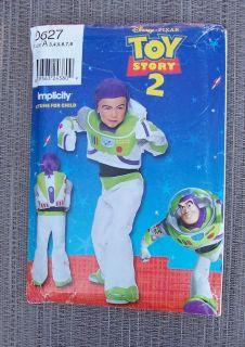 Buzz Lightyear Toy Story Costume Simplicity Pattern 0627 Uncut Kids 3