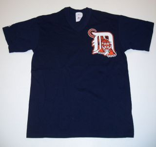 Detroit Tigers Navy Baseball Jersey Youth