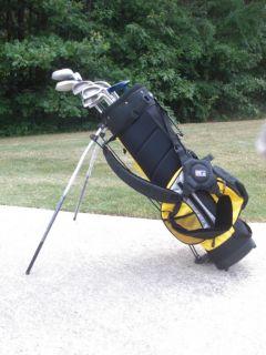 Junior Jr Teen Kids Golf Club Set Bag Nike Wood GR8 Deal