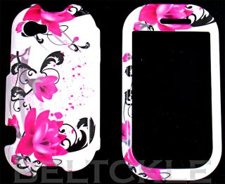 Purple Lily Flowers Sharp Kin Two KIN2 Hard Case Cover